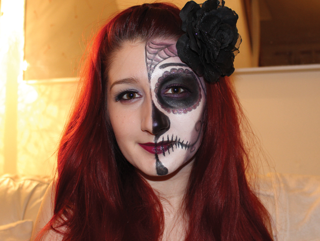 suger skull halloween
