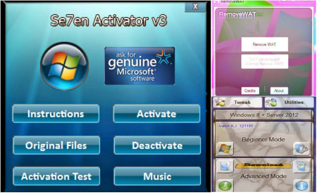Windows 7 Loader By DAZ Windows 7 Ultimate Activator