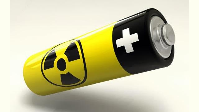 بطارية  يتعمل علي الطاقة النواوية يمكن استعمالوها لي مدة 12 كاميلة بيدون شحن