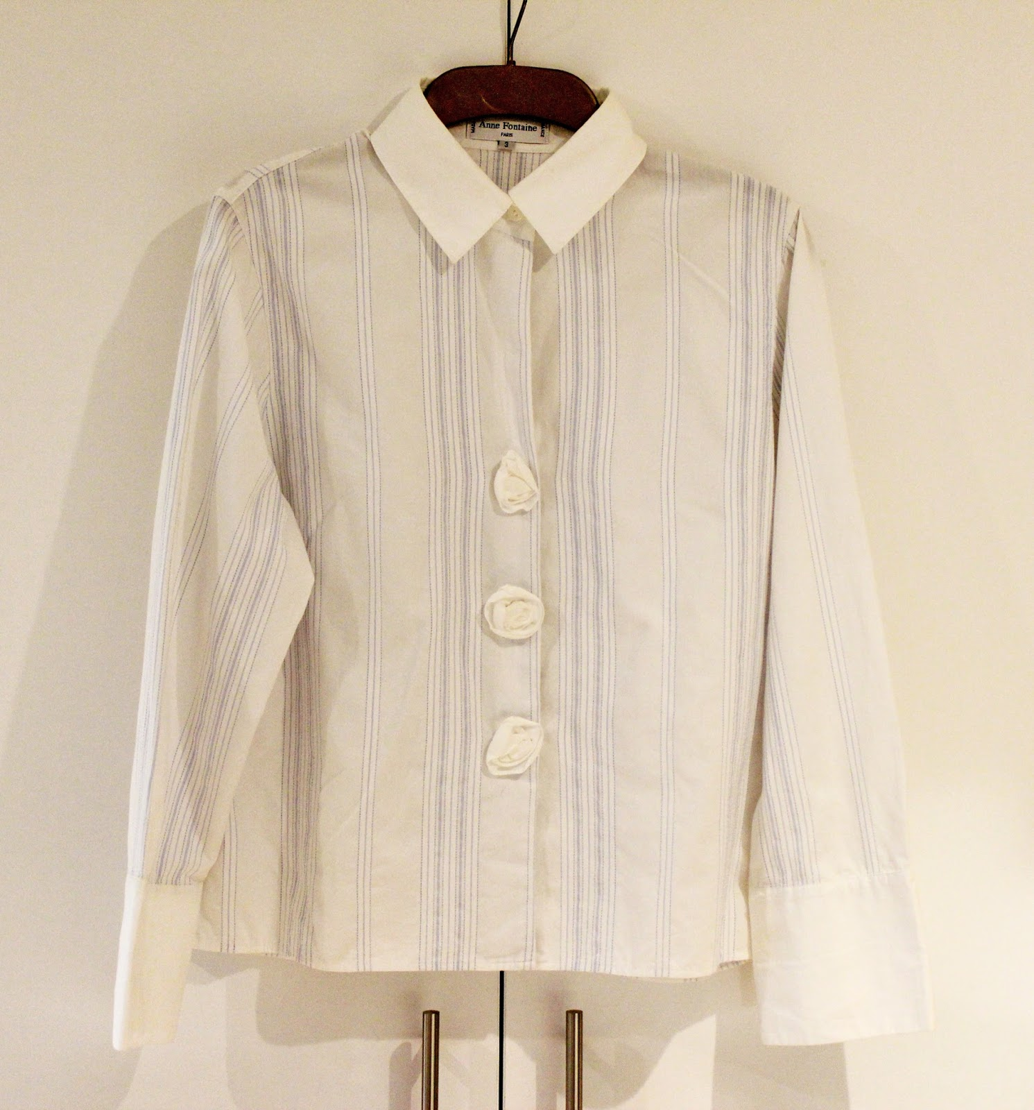 Anne Fontaine White Cotton Blouse - £35