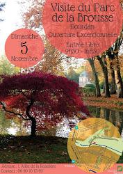 LE PARC DE LA BROUSSE à DOURDAN exceptionnellement ouvert à la visite le 5 novembre