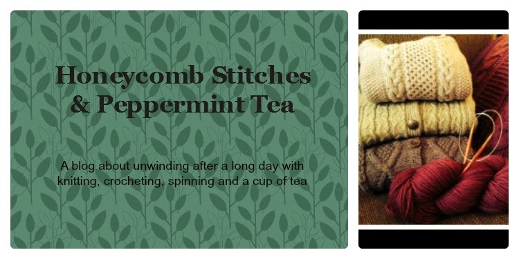 Honeycomb Stitches & Peppermint Tea