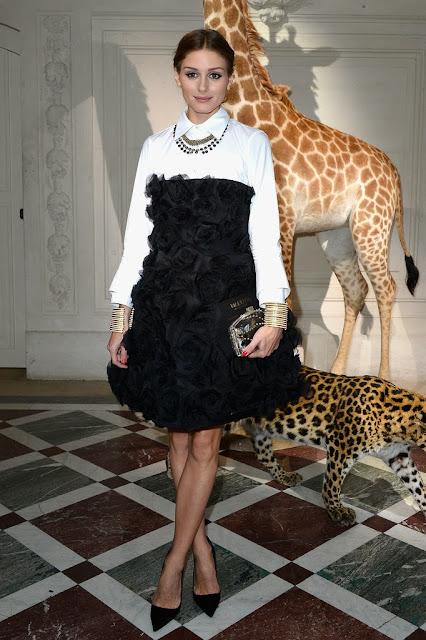Street Style Fashion Blog Christmas Outfits Red Fall Fashion Olivia Palermo