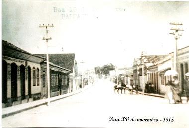 RUA XV DE NOVEMBRO EM 1915