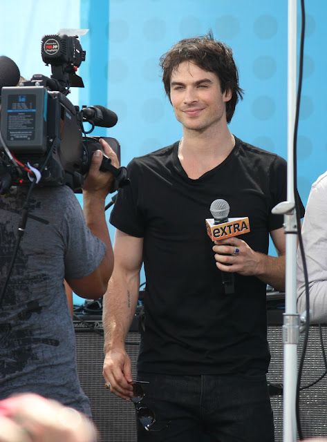 Ian Somerhalder Comic Con