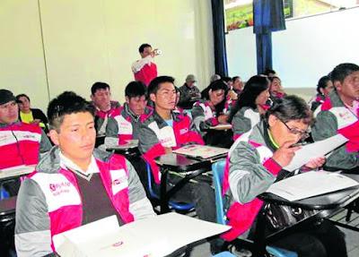 examen descentralizado, beca 18, junín