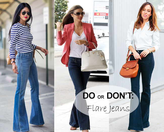 Flare Jeans: Do or Don't
