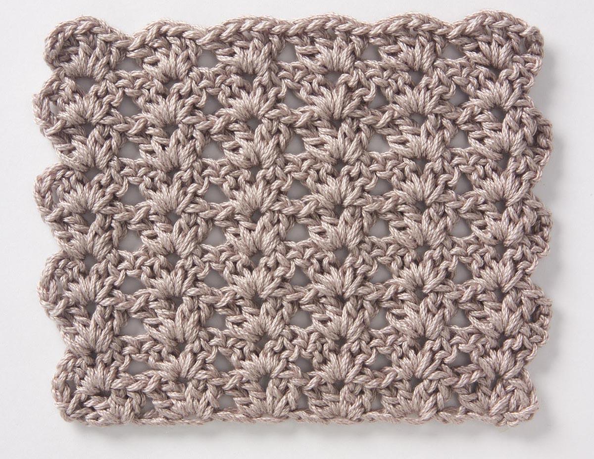 Crochet Stitches Shell Pattern : Sucateando: V?RIOS PONTOS DE CROCHe
