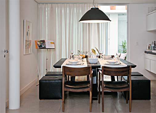 Sala De Jantar Com Preto ~ Arquitetando Idéias  Sala de jantarDicas