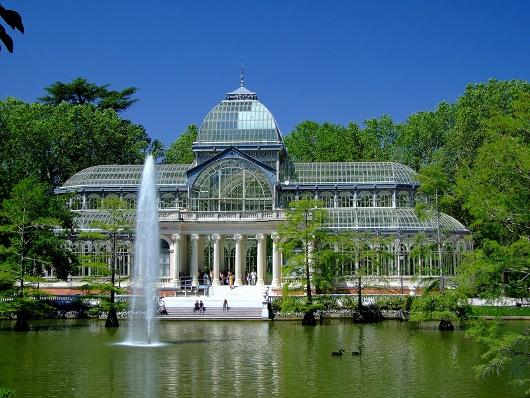 Palacio de cristal del retiro madrid lugares para viajar for Lugares turisticos de espana madrid