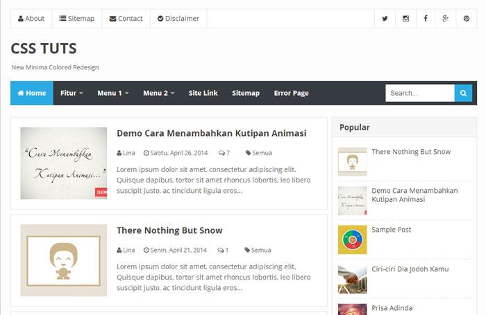 Template Blog Keren Dengan Fitur Mobile SEO Friendly 7 Template Blog Keren Dengan Fitur Mobile & SEO Friendly