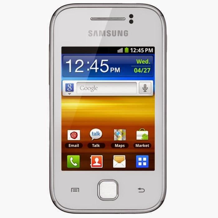 Samsung Galaxy Y Blanc GT-S5360 Comparateur de smartphone