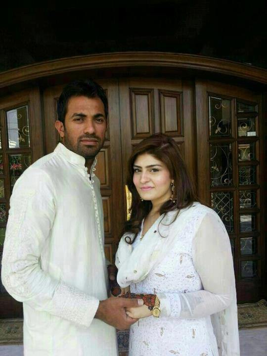 Happy Married Life to Wahab Riaz With Zainab Chaudhary