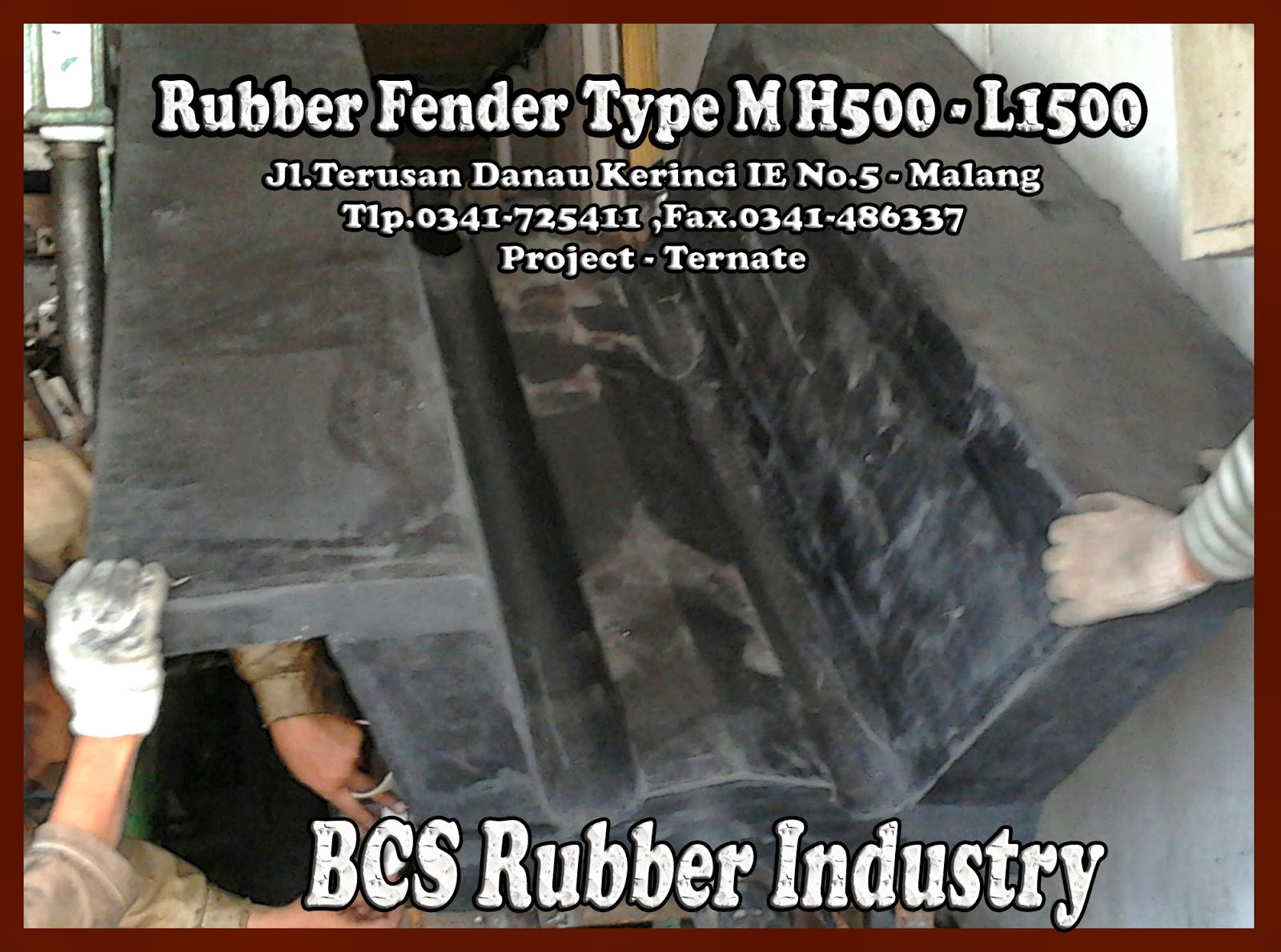 Rubber Fender M – BCS Rubber Production