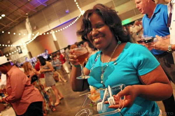NOWFE 2015 Guest Enjoying Saturday Grand Tasting