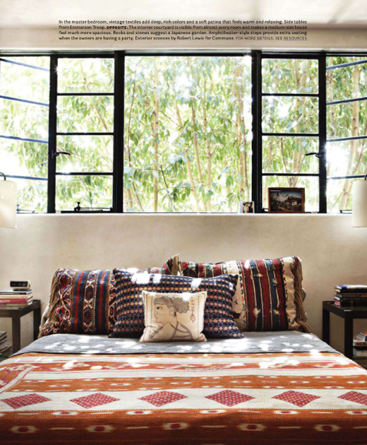 Wake Up To A Fresh Bedroom Style: Neo-boho In The Bedroom