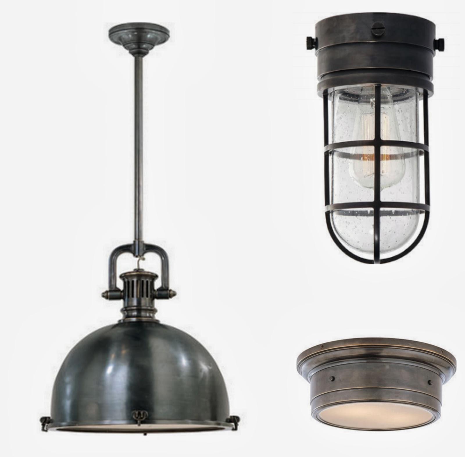 circa 39 s yoke pendant marine flush mount and siena flush mount. Black Bedroom Furniture Sets. Home Design Ideas