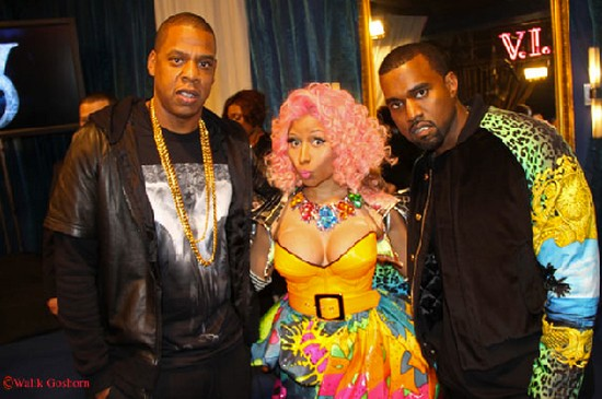 "Jay-Z/Kanye West (The Throne) And Nicki Minaj Perform At ""Victoria's Secret Fashion Show"" (VIDEO)"