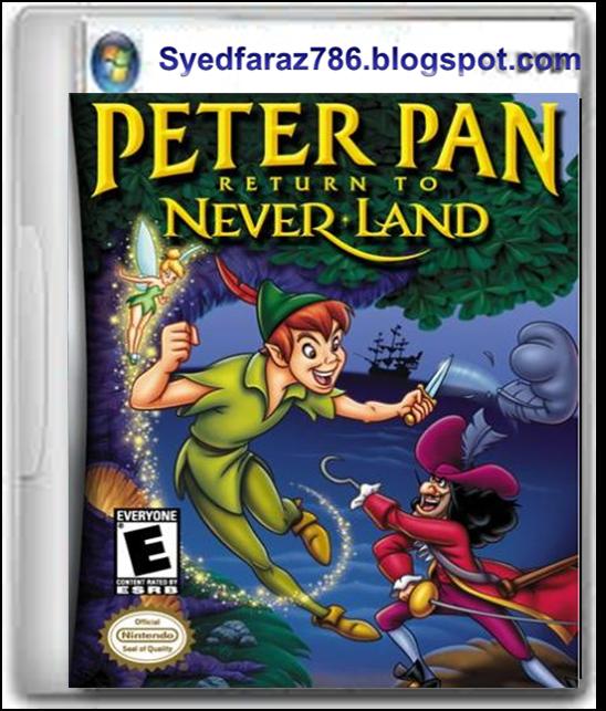 Peter Pan Return To Never Land Game Free Download Full ...
