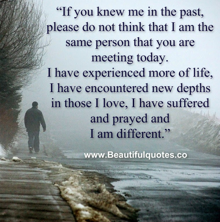 I am different.