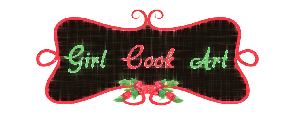 Girl Cook Art
