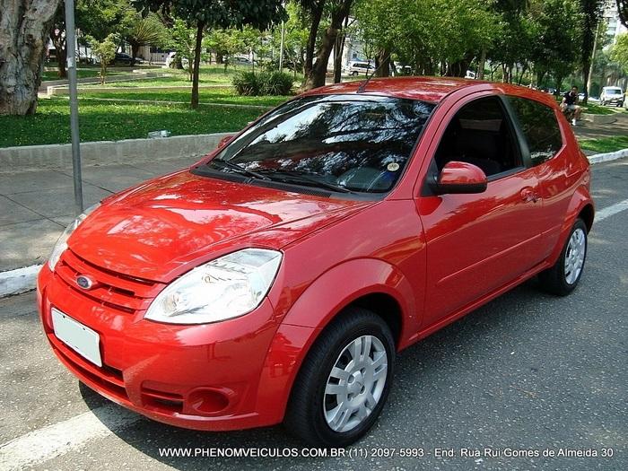 Ford Ka 2009 1.6 flex - completo - vermelho