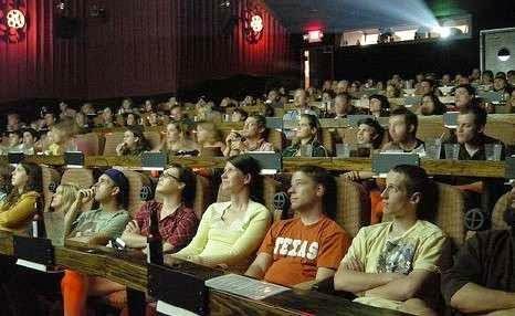 Foto unik bioskop