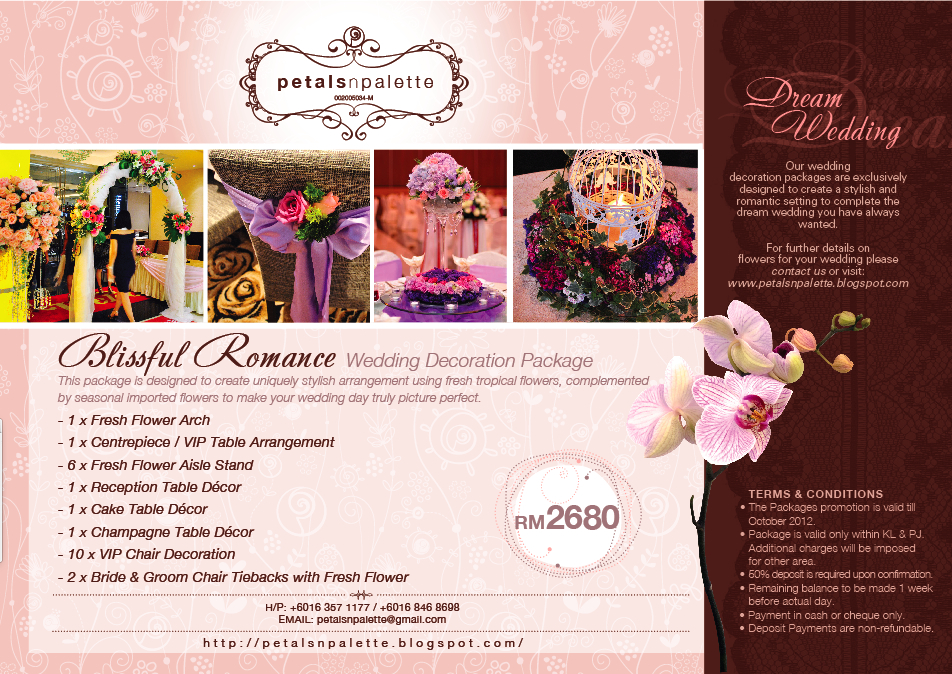 Wedding Decoration Wedding Decor Packages Kl