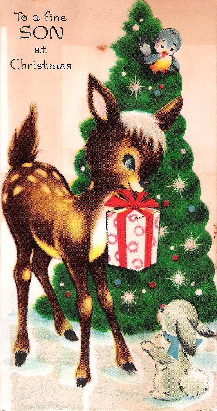 Restoring Her Legacy: Vintage Christmas cards