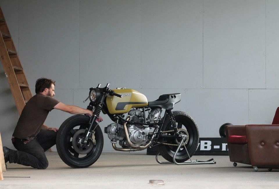 Ducati Pantah JvB Moto Cafe Racer Motorcycle Vintage