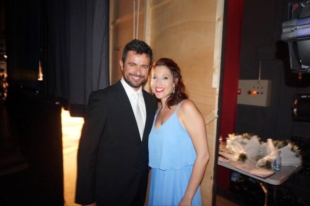 Toni Pons y Lorena Sanz