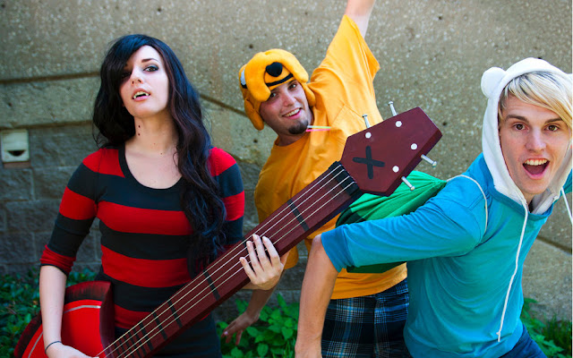 Adventure Time Cosplay por Windnstorm