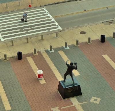 Unitas Statue at Ravens Stadium