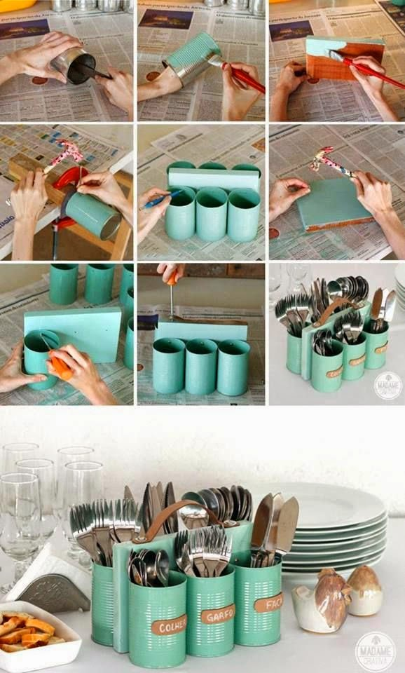 Make Your Own Cutlery Holder