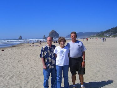 Jim and Donna at the Oregon Coast