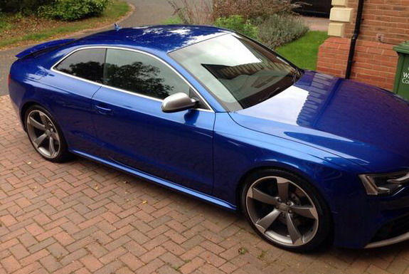 This is the picture of Jack Butland's Audi RS5 which has been stolen