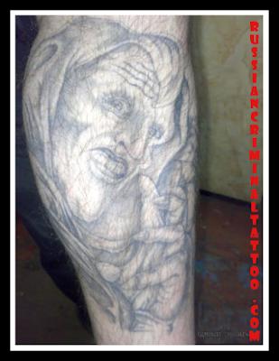 Joker-tattoo