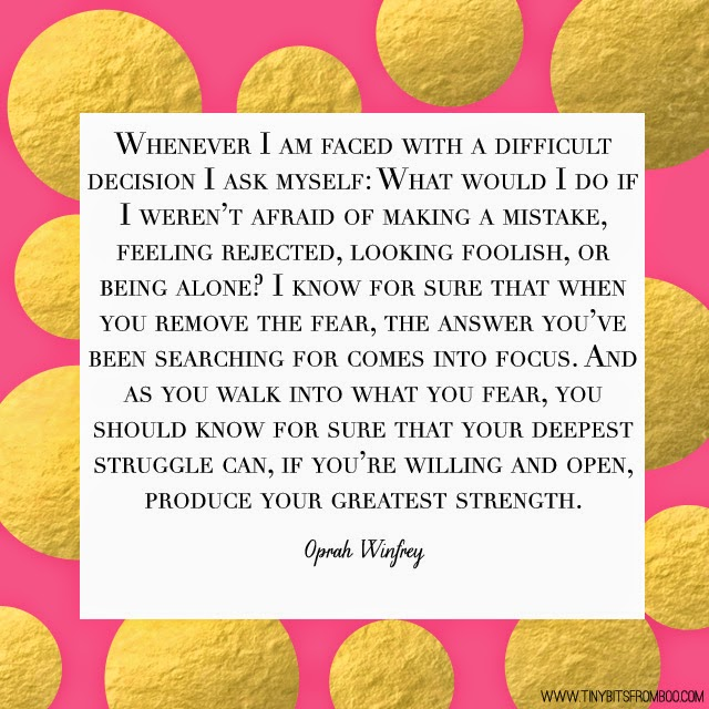 Quotes, Tiny Bits of Truth, Oprah Winfrey