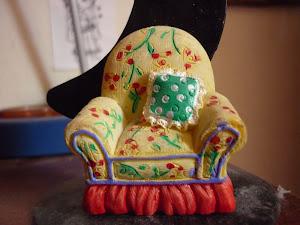Amarillo sillón