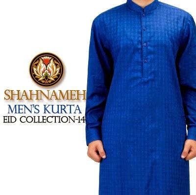 Shahnameh Eid Kurta Collection 2014 for Men | EID Party Shalwar Kameez