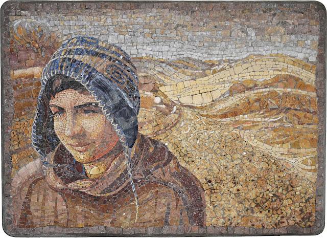 Izložba crteža i mozaika Snežane Jovčić Olđe