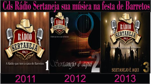 CD SERTANEJO É AQUI VOLUME 3 ( 2013 )