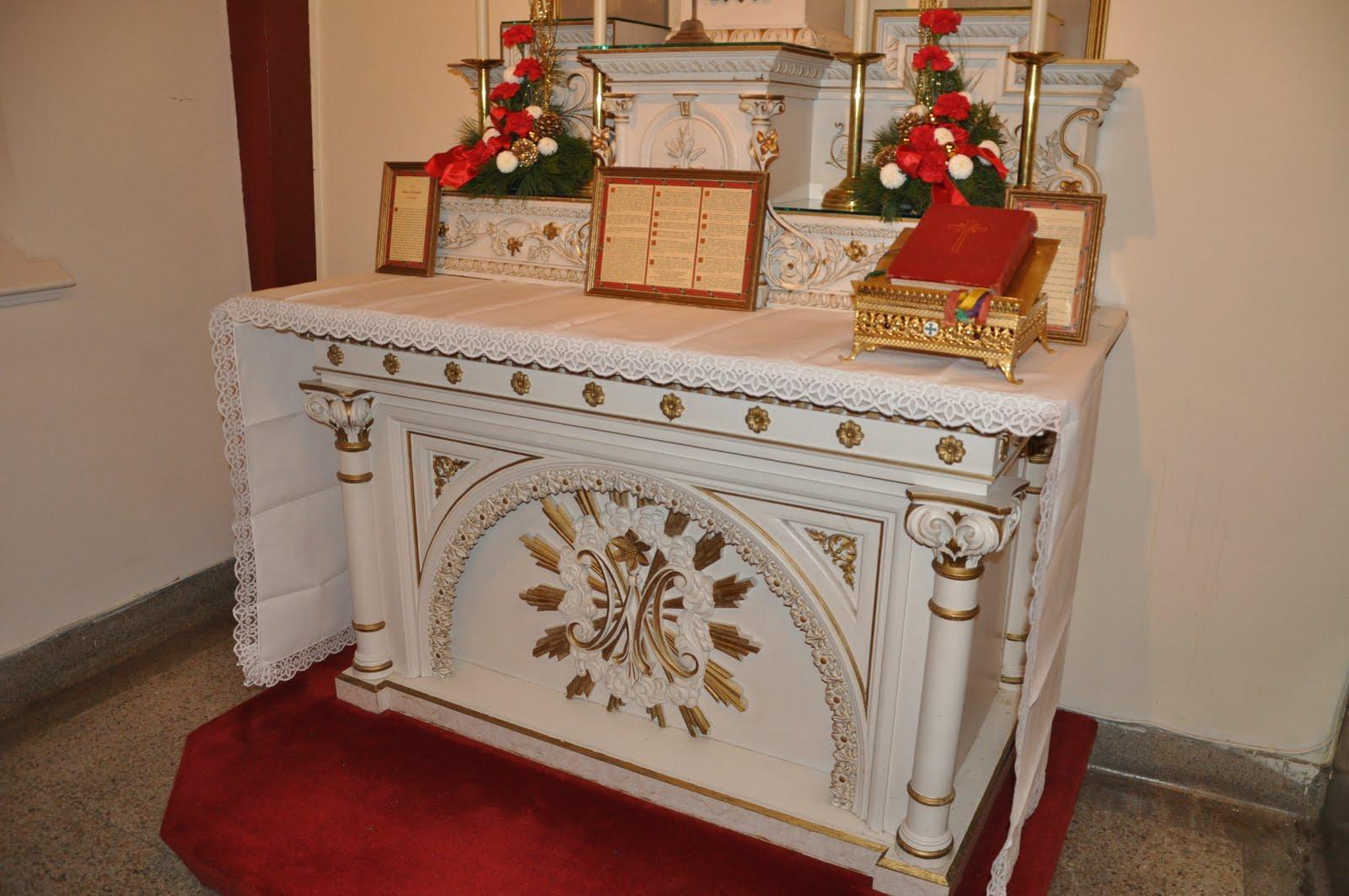 Orbis Catholicus Secundus Starched Pure Linen Altar Cloths