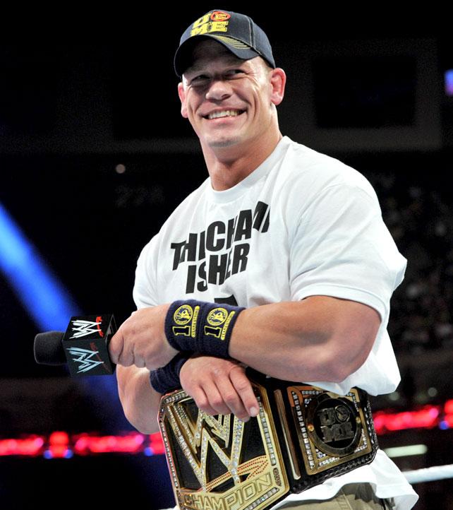 John Cena WWE Champion and World Heavyweight Champion Is ...  John Cena WWE C...