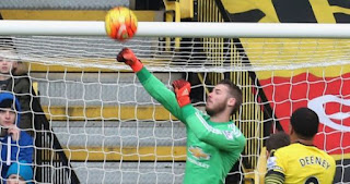 David De Gea Man-of-the-Match Watford vs MU 1-2