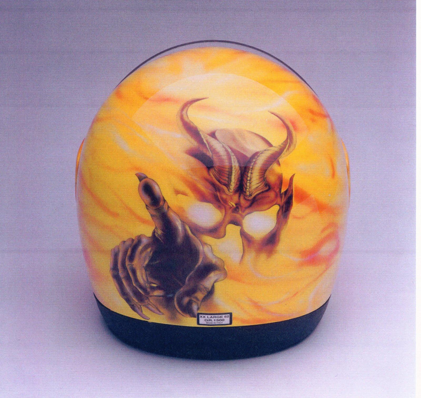 Devil Helmet