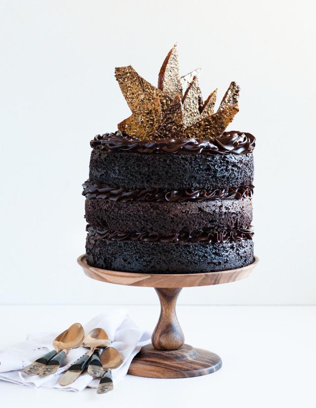 Desserts For Breakfast Blackout Chocolate Birthday Cake