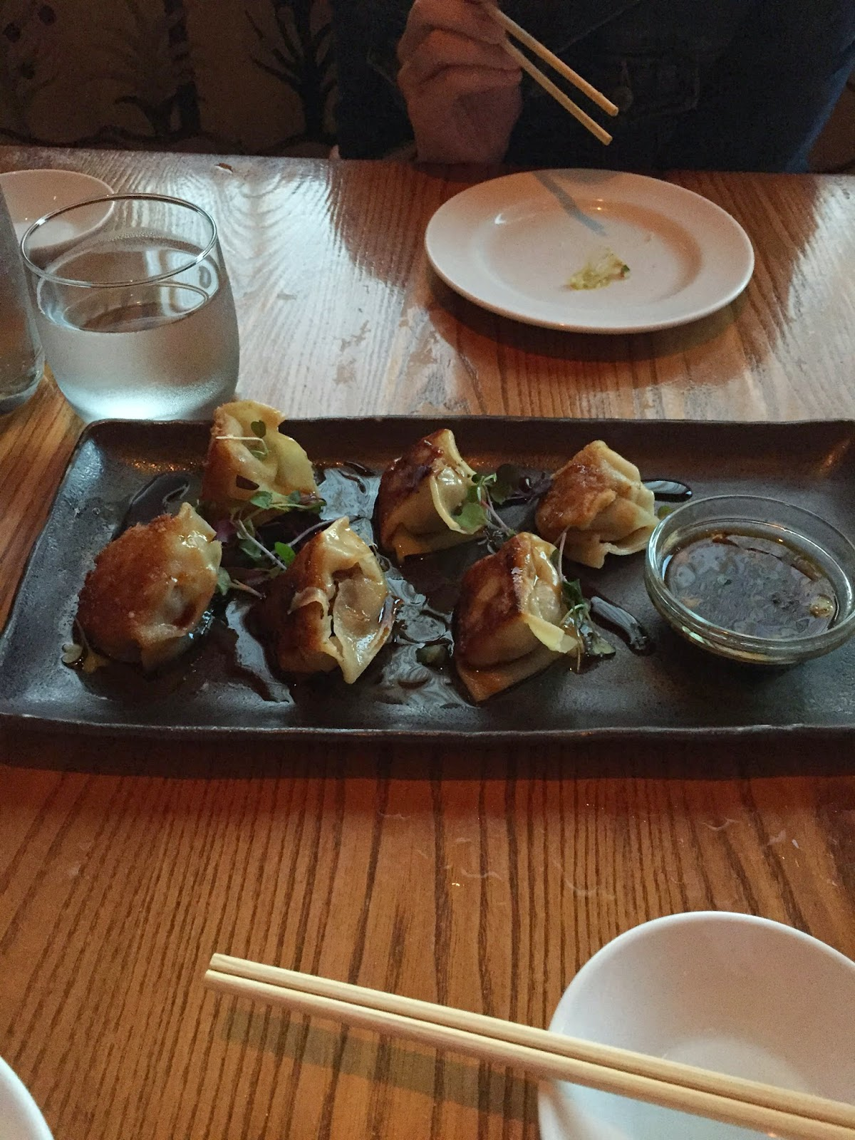 Wagyu Stuffed Dumplings
