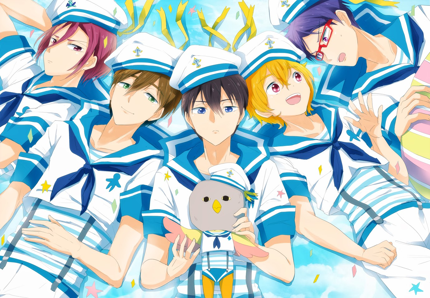 lunagareboshi free iwatobi swim club sailor uniform