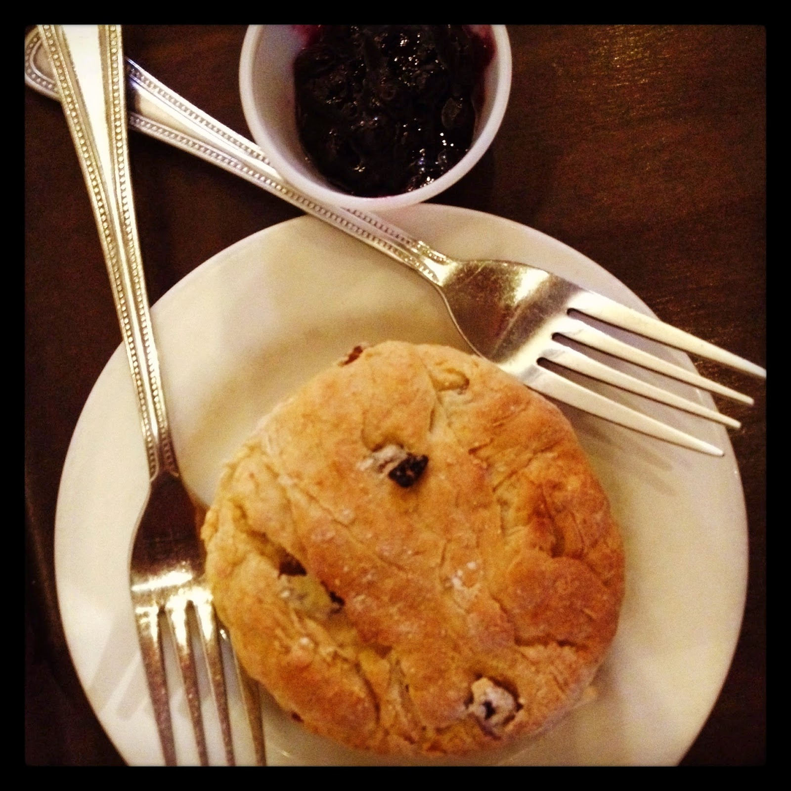 Vegan Scone and Jam Cornucopia Dublin, Ireland